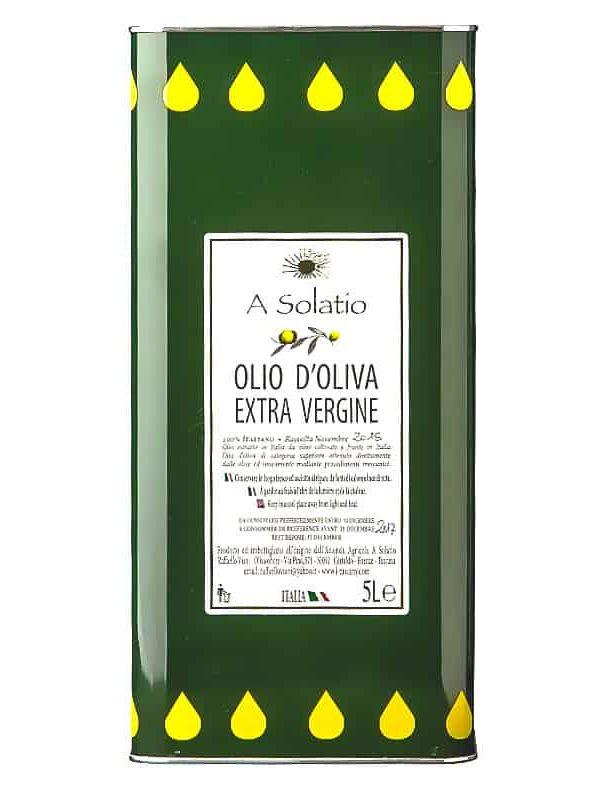 olio extra vergine di oliva 5l