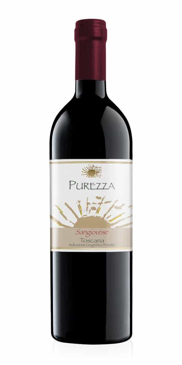 vino rosso toscano sangiovese purezza